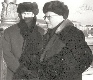 Д.Шостакович и А.Беседин в Минске